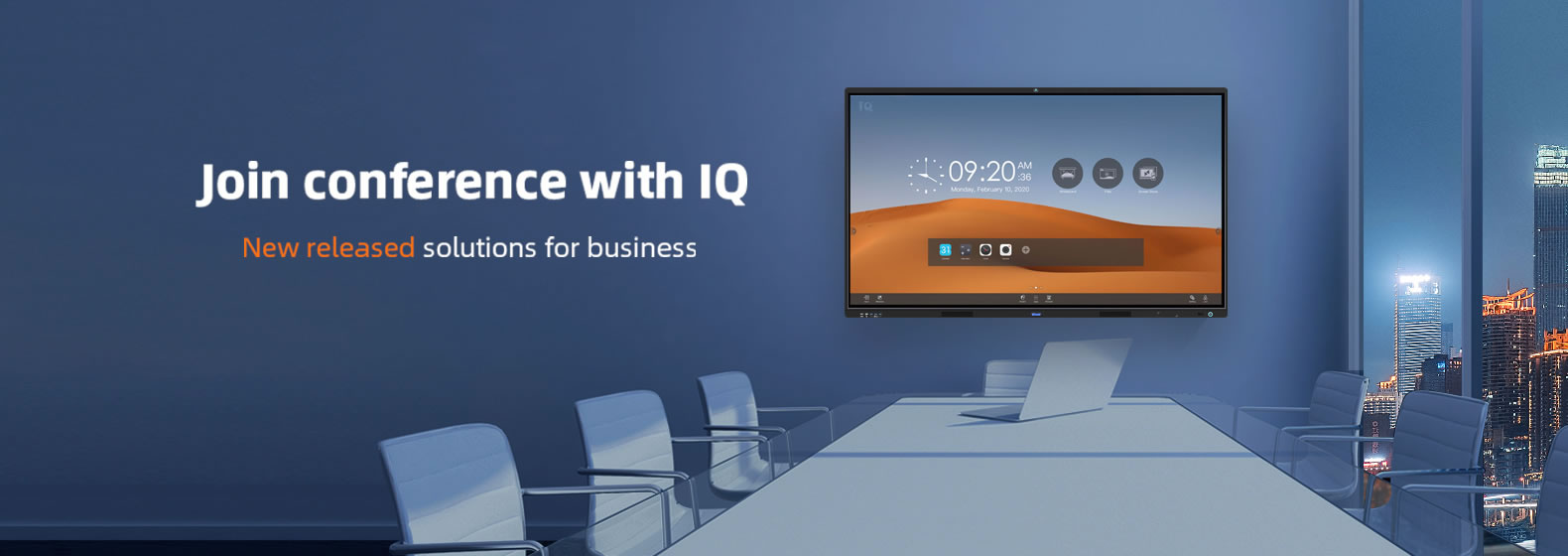IQ Smart Meeting Room Solutions