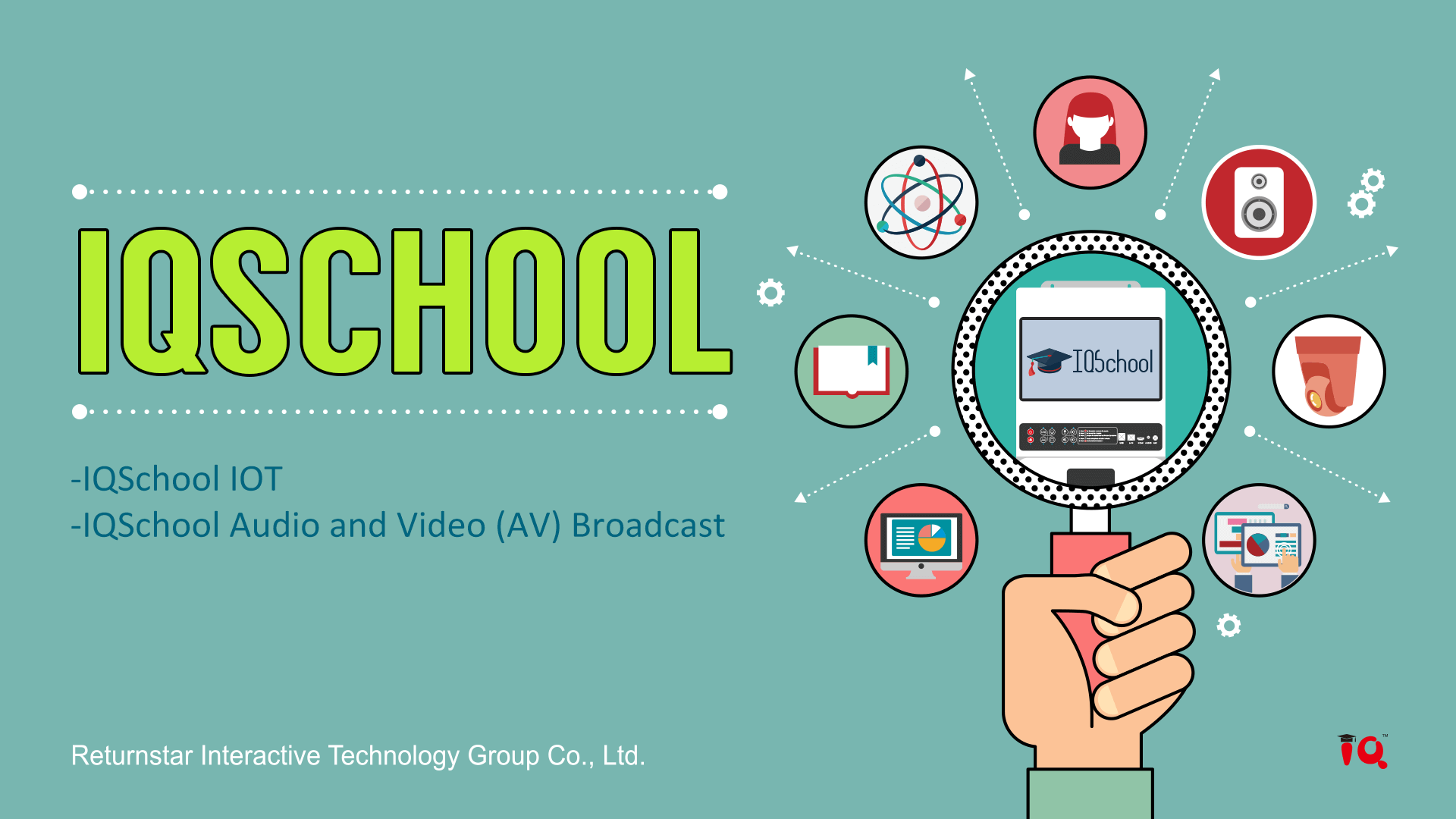 IQ Education Solution for School and Classroom IQBoard