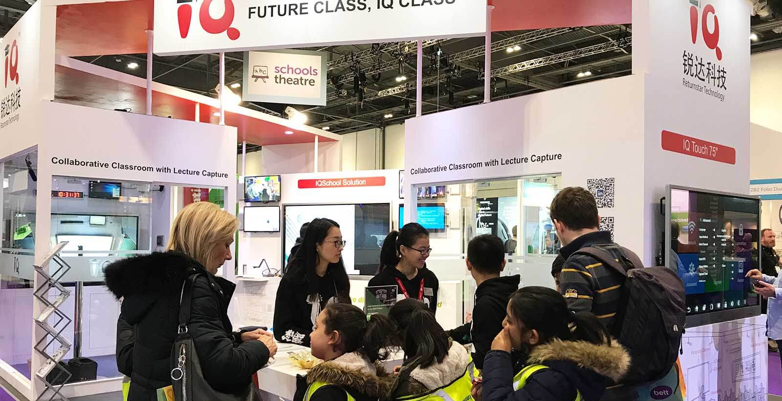 BETT 2018 Interactive Education Solution Provider
