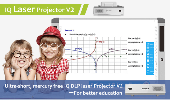 Best Laser Projector For Education and Business--IQProjector V2