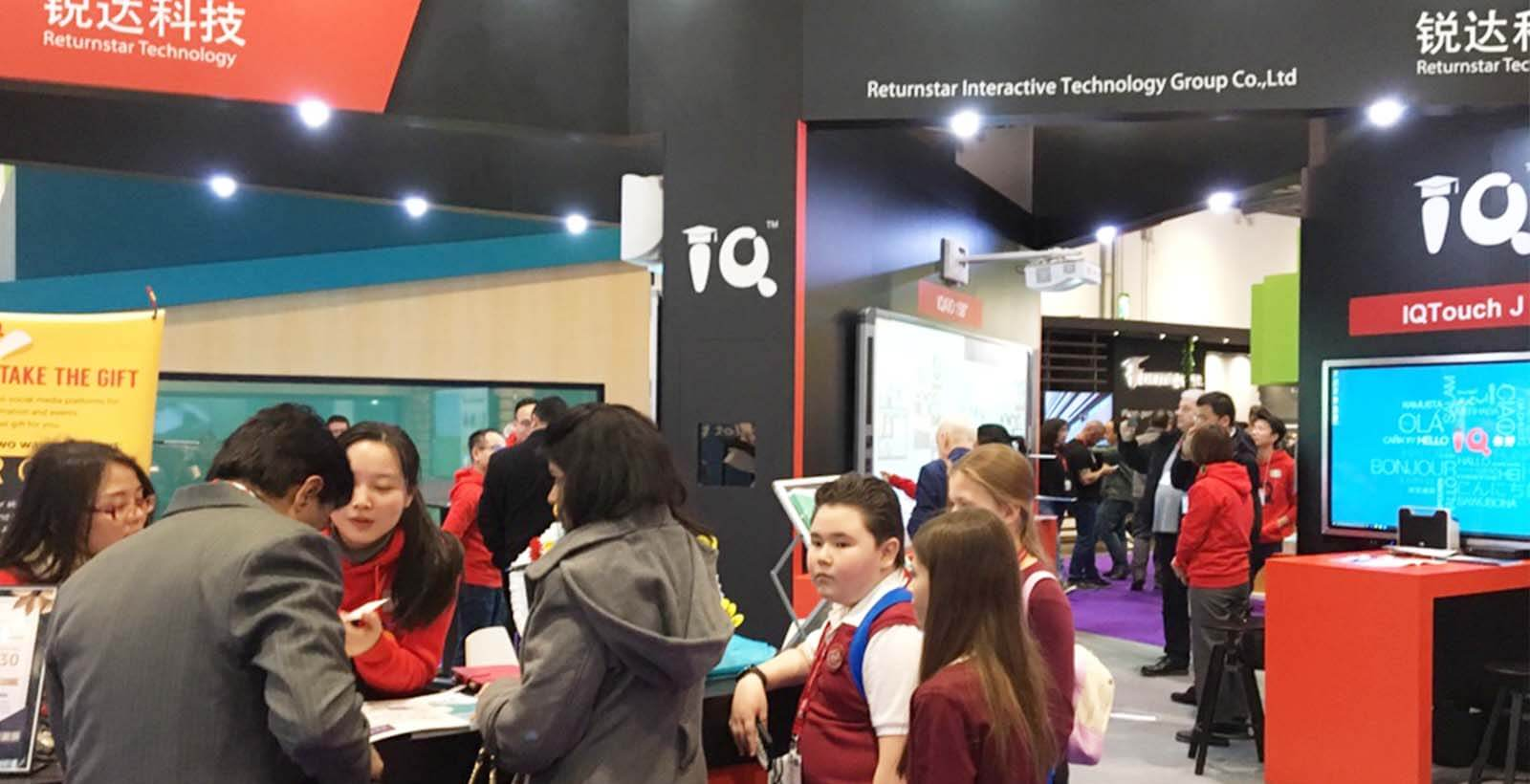 BETT journey for IQ --- Start with a new inspiration and innovation